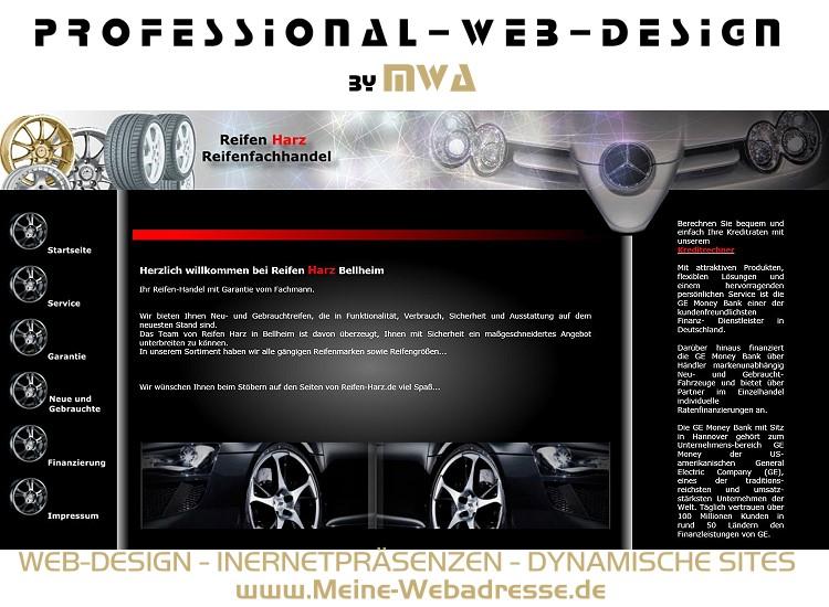 Internetseiten-Erstellung